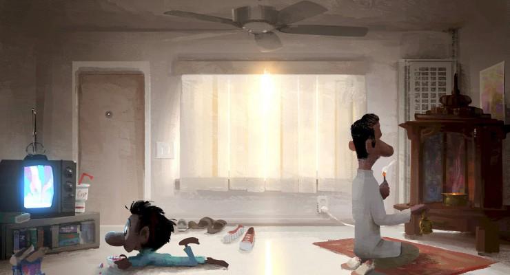 First Look: Pixar's New Short 'Sanjay's Super Team'