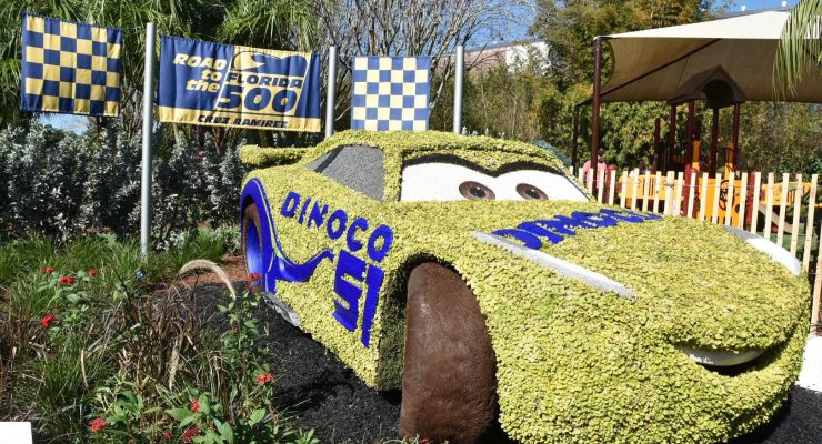 New 'Cars 3' Character Debuts At Epcot's Flower & Garden Festival