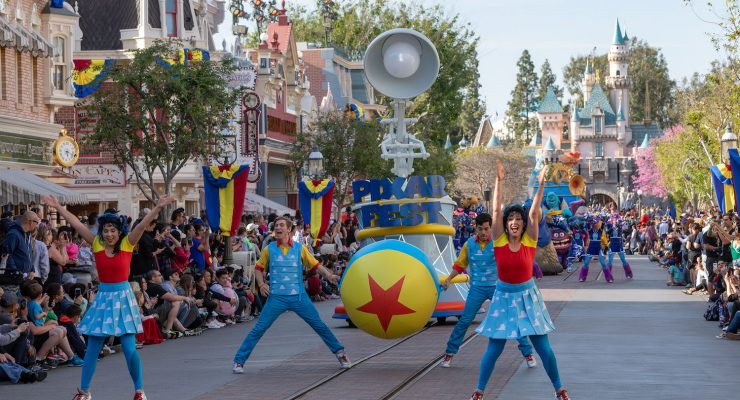 Watch: Go Inside The Pixar Play Parade At Disneyland
