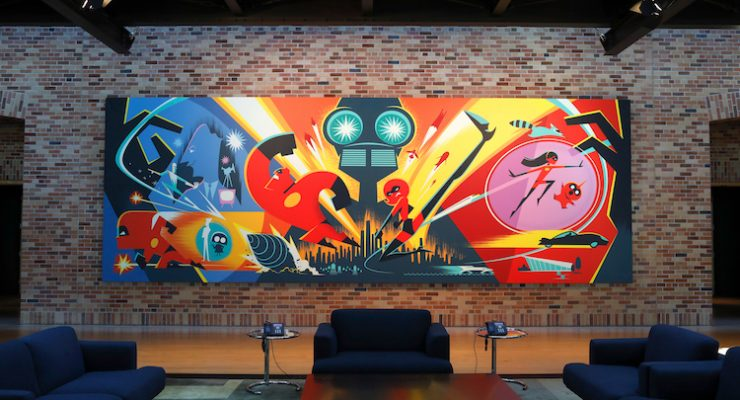 Take A Tour Through Pixar's Inspiring 'Incredibles 2' Art Gallery