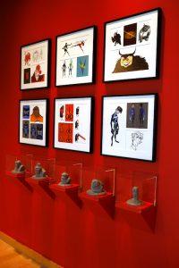 The Incredibles 2 art gallery, as seen on March 8, 2018 at Pixar Animation Studios in Emeryville, Calif. (Photo by Deborah Coleman / Pixar)