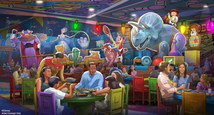 New 'Toy Story' Sit-Down Restaurant Headed To Walt Disney World