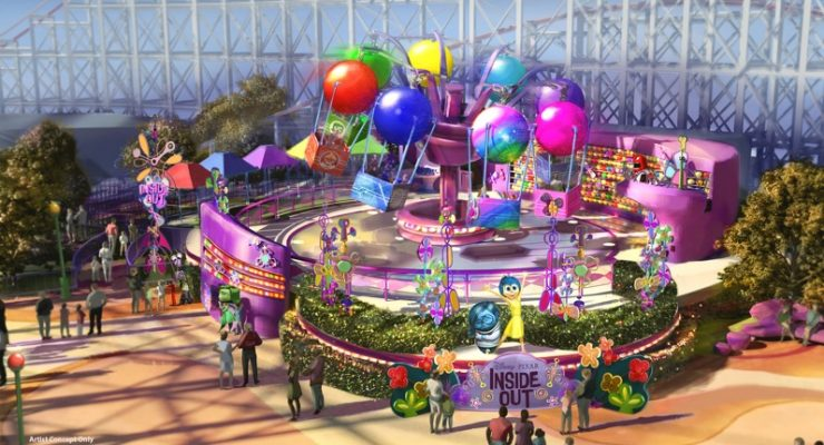 'Inside Out' Attraction Opening At Disneyland This Summer