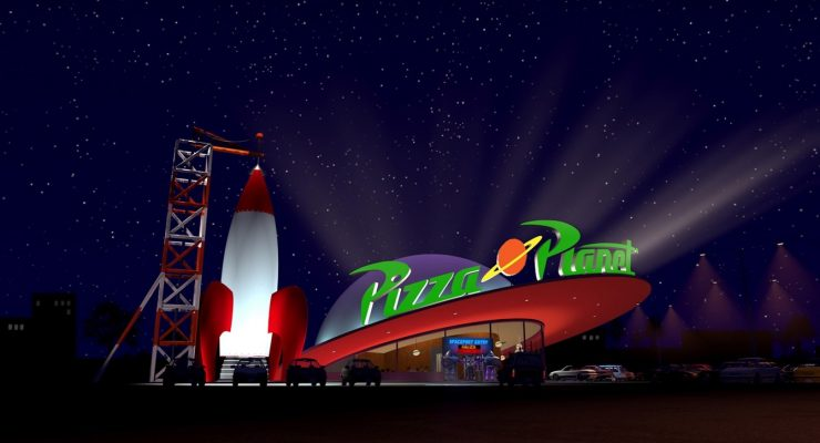 Pizza Planet Is Undergoing A Renovation At Disneyland – Will It Look More Like The 'Toy Story' Restaurant?