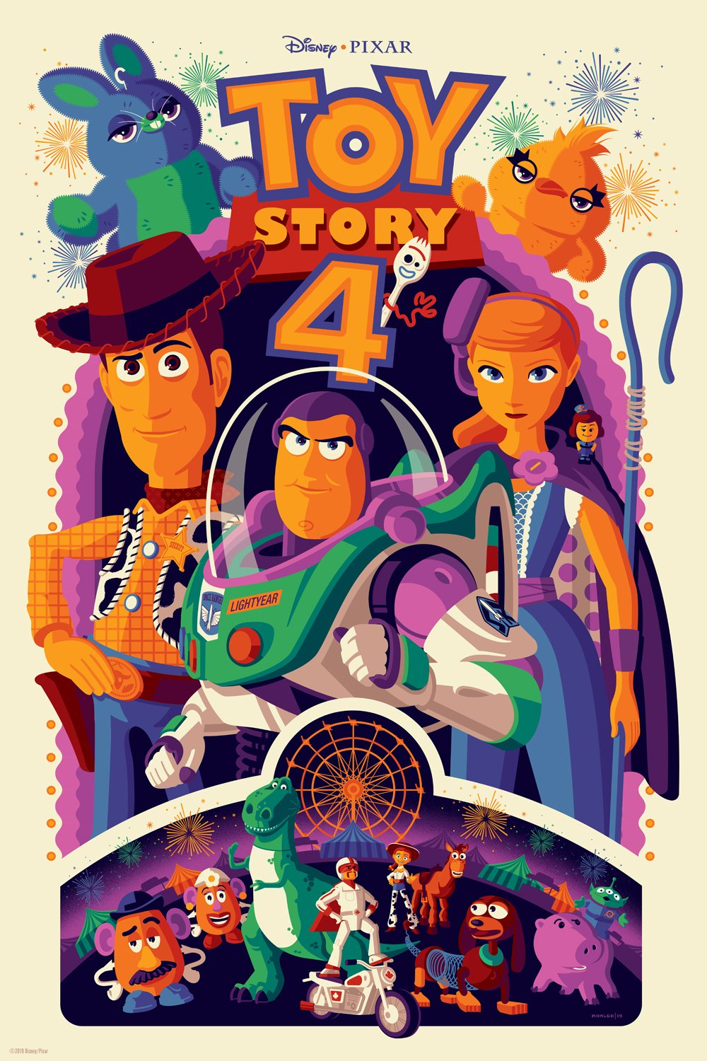 Take A Look At A New Collection Of Stunning 'Toy Story 4 ...