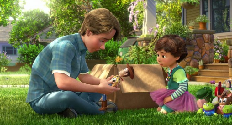In 'Toy Story 4' Bonnie Takes A Cue From Andy