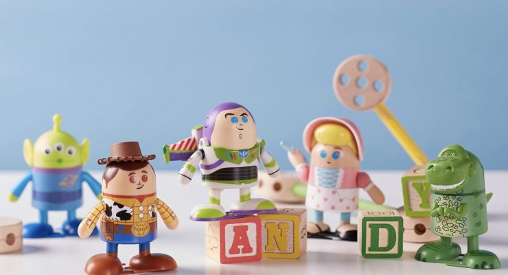 A Look At 'Toy Story' Wind-Up Toys Available At The Disney Store