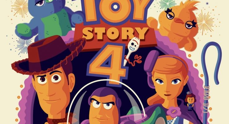 Take A Look At A New Collection Of Stunning 'Toy Story 4' Posters