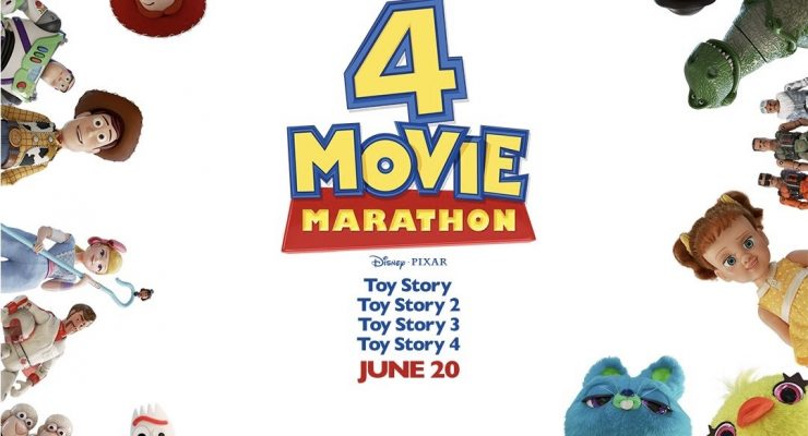 Catch A 'Toy Story' Marathon Of All Four Films, Cry For Hours – Buy Tickets Now