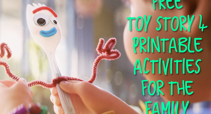 'Toy Story 4' – Free Printable Activities For Families And Kids