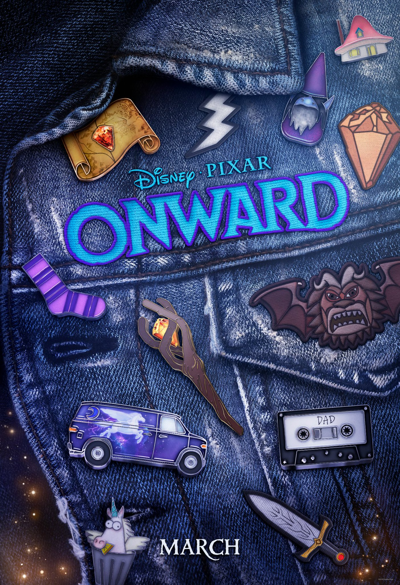 Onward poster given away to D23 Expo attendees